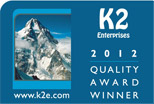 CYMA wins K2 Quality Award for Human Resources Module