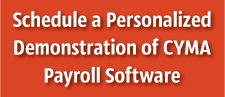 CYMA Payroll Software Demonstration